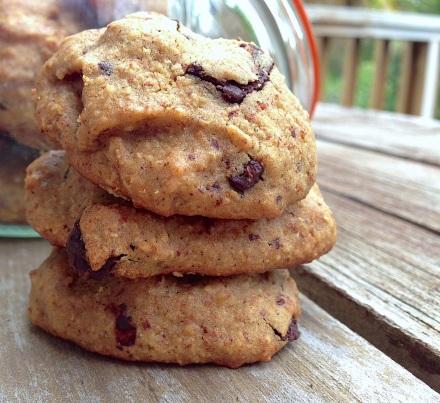 flourless chocolate chip cookies